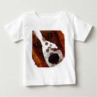 Camiseta De Bebé Welshie hace frente a arte