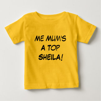 Camiseta De Bebé Yo una Sheila superior de la momia, regalo