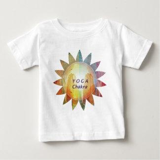 Camiseta De Bebé Yoga Chakra