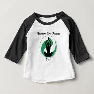 Camiseta De Bebé Yoga RepurposeFeelings