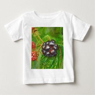 Camiseta De Bebé Zarzamoras salvajes que maduran en verano