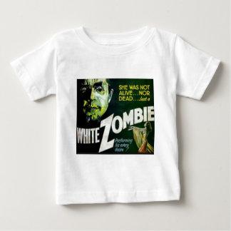 Camiseta De Bebé Zombi blanco