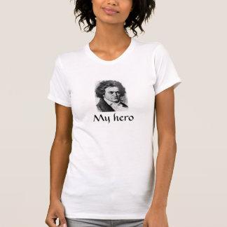 """Camiseta de Beethoven de """"mi héroe"""""""