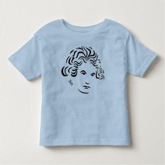 Camiseta de Beethoven para los niños -- Bl PK Wh