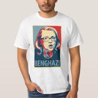 Camiseta de Benghazy - parodia del poster de Obama