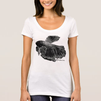 Camiseta de Betta Splendens