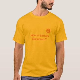 Camiseta de Bitcoin