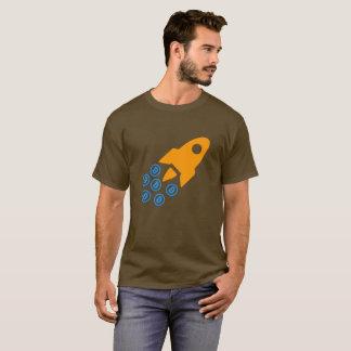 Camiseta de Bitcoin (BTC) Rocket Camiseta