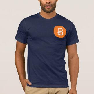 Camiseta de Bitcoin de la marina de guerra