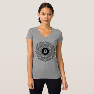 Camiseta de BITCOIN/HENNA-Women