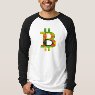 Camiseta de BITCOIN/PATTERN-Men