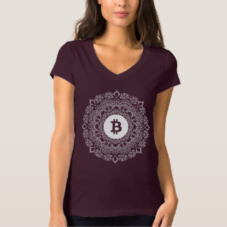 Camiseta de BITCOIN/PATTERN-Women