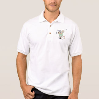 Camiseta de bolsillo del golfista