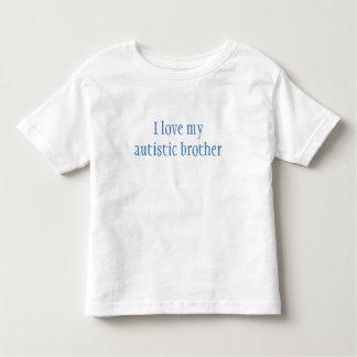 Camiseta de Brother del autismo