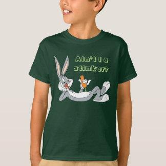 Camiseta ™ de BUGS BUNNY que miente abajo comiendo la