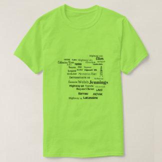 Camiseta de Cajun Luisiana de la parroquia de
