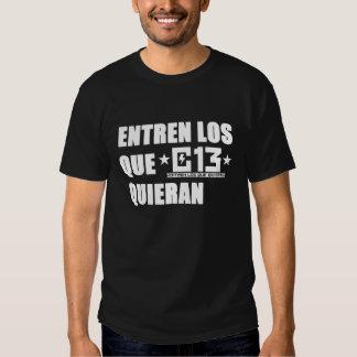 CAMISETA DE CALLE 13 (OSCURA)