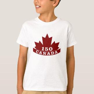 Camiseta de Canadá 150 de los niños
