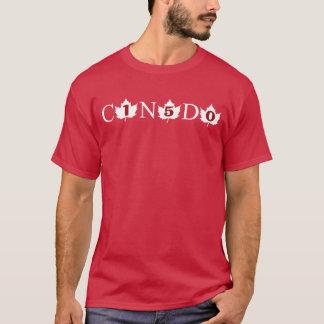 Camiseta de Canadá 150 (diseño del frente y de la