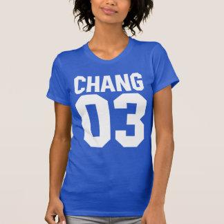 Camiseta de Chang 03, camiseta de CHANG