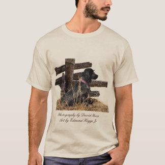 Camiseta De cocker del perro de aguas del perro de aguas