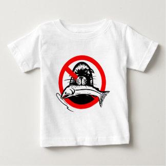 Camiseta de color salmón del niño del ladrón