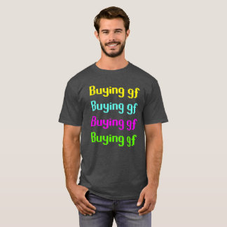 Camiseta de compra del gf