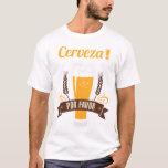 Camiseta de consumición divertida de la cerveza