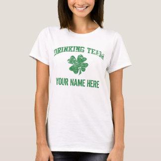 Camiseta de consumición irlandesa del equipo