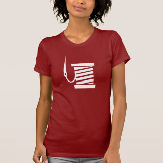 Camiseta de costura del pictograma