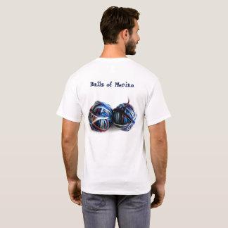 Camiseta de Crocheters de los calceteros de la