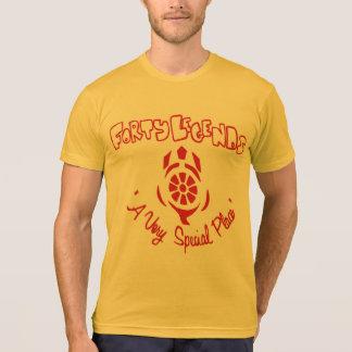 Camiseta de cuarenta leyendas