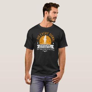 Camiseta de detección metalizado de la diversión -