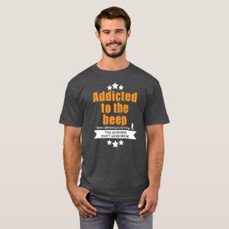 Camiseta de detección metalizado, enviciada a la