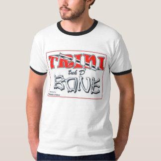 Camiseta de Di Bone Ringer del tyh de Trini