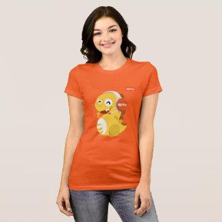 Camiseta de Dino de las auriculares de VIPKID