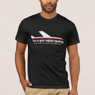 Camiseta de discurso del día de fiesta de la