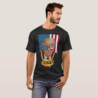 Camiseta de Donald Trump Gangsta los E.E.U.U.