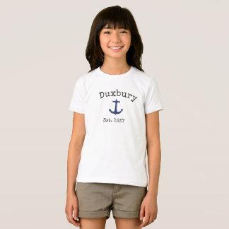 Camiseta de Duxbury Massachusetts para los chicas