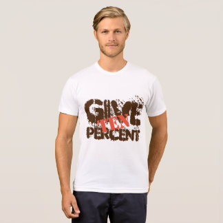 Camiseta Dé el diez por ciento