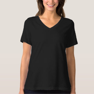 Camiseta de elevación con cuello de pico del