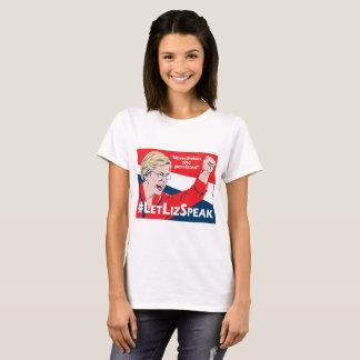 Camiseta de Elizabeth Warren del #LetLizSpeak -