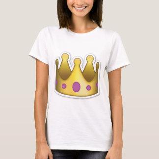 Camiseta de Emoji de la corona