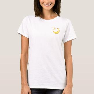 Camiseta de Emoji de la luna y de la chispa