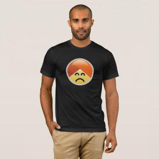 Camiseta de Emoji del turbante de Guru de la