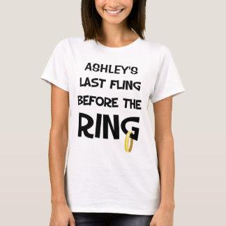 Camiseta de encargo del fiesta de Bachelorette
