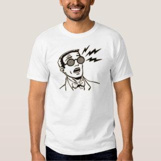 Camiseta de espec. de la radiografía