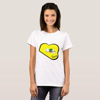 Camiseta de Etiopía de los labios de Sharnia