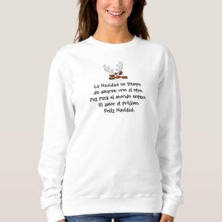 Camiseta de Feliz Navidad tan dulce y festiva