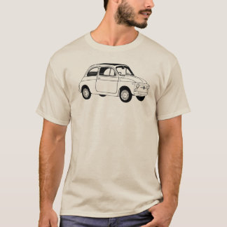 Camiseta de Fiat 500 (Cinquecento)